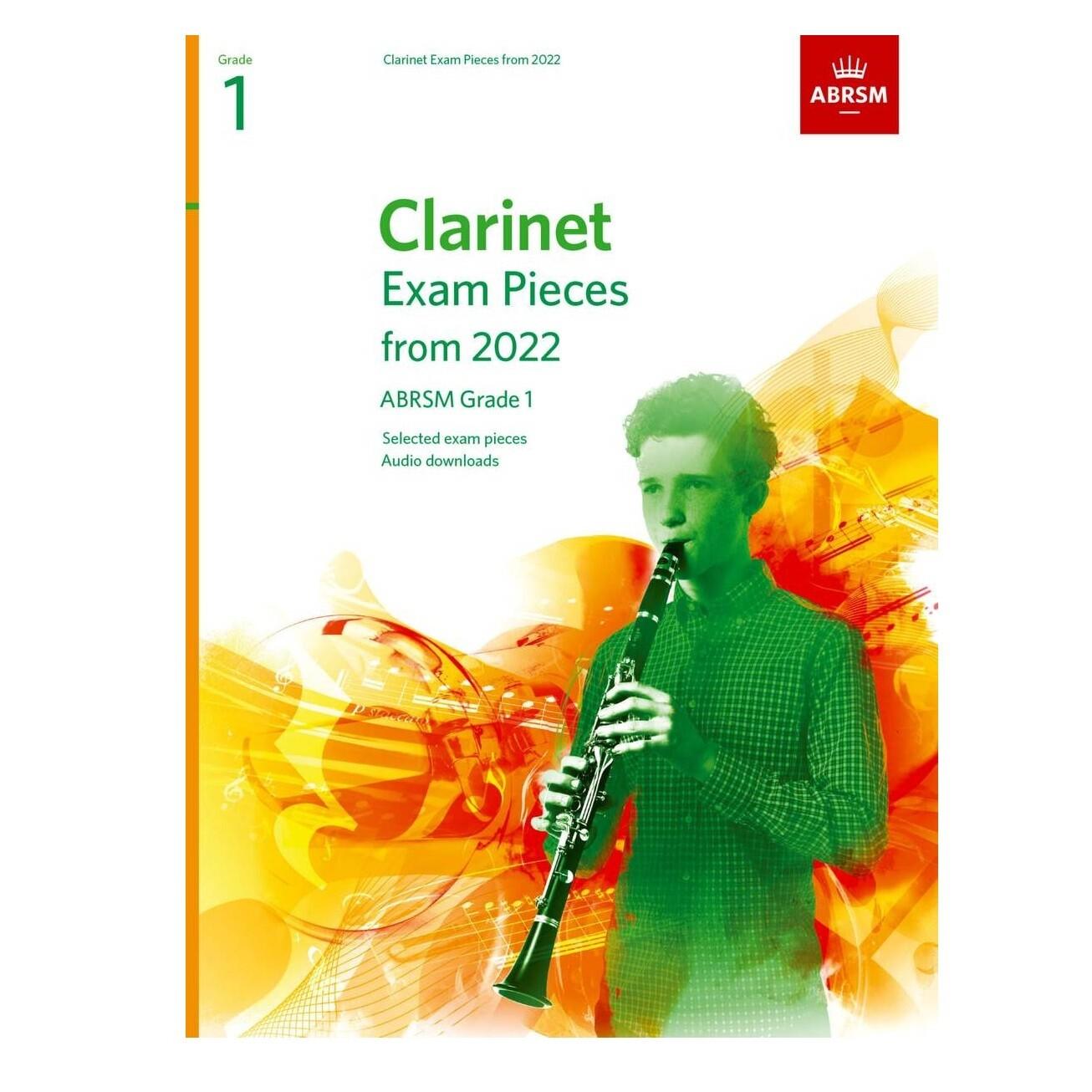 ABRSM Clarinet Exam Pieces Grade 1 2022-2025