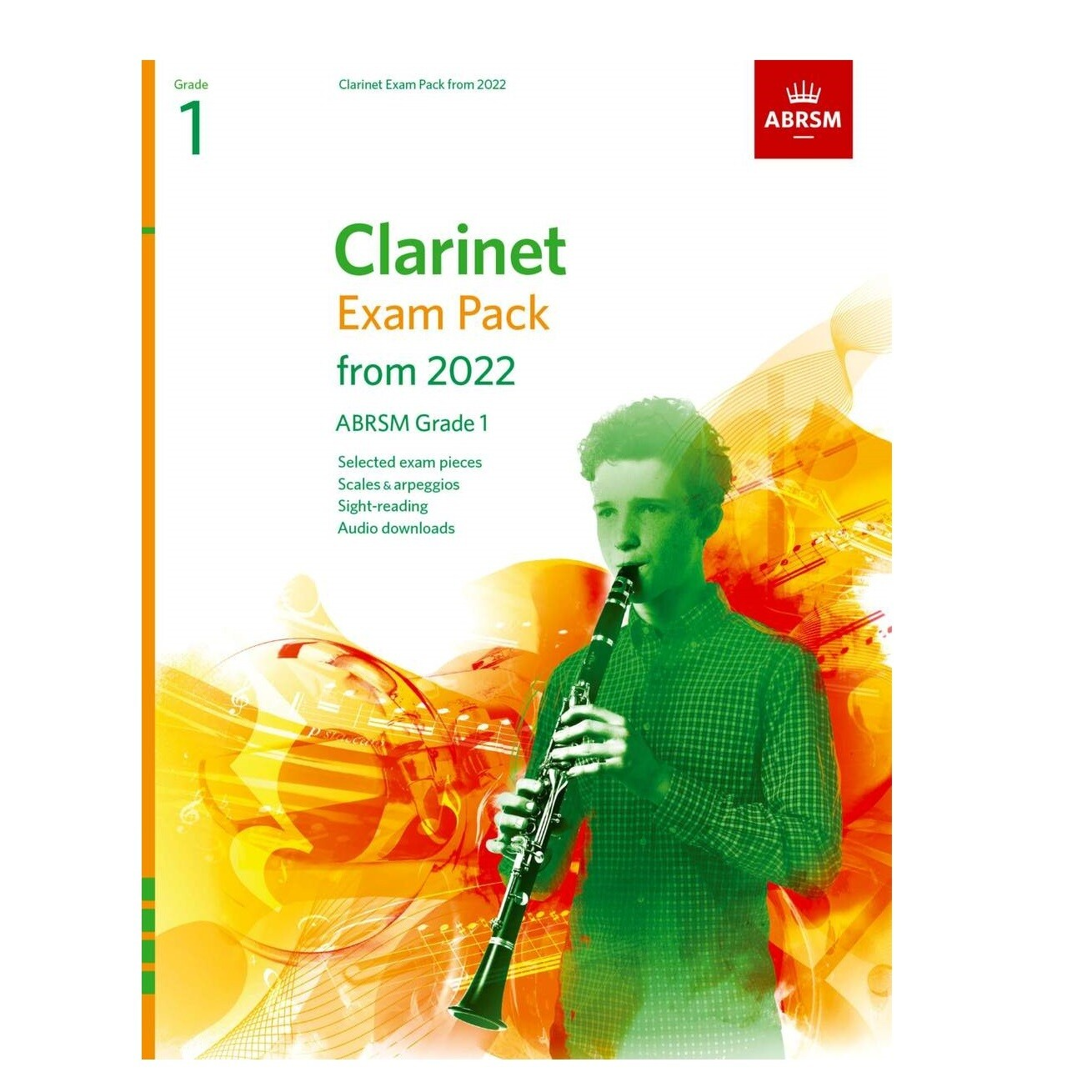 ABRSM Clarinet Exam Pack Grade 1 2022-2025