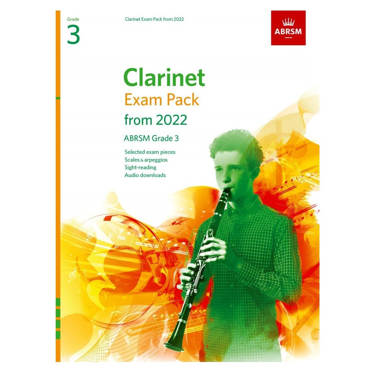 ABRSM Clarinet Exam Pack Grade 3 2022-2025