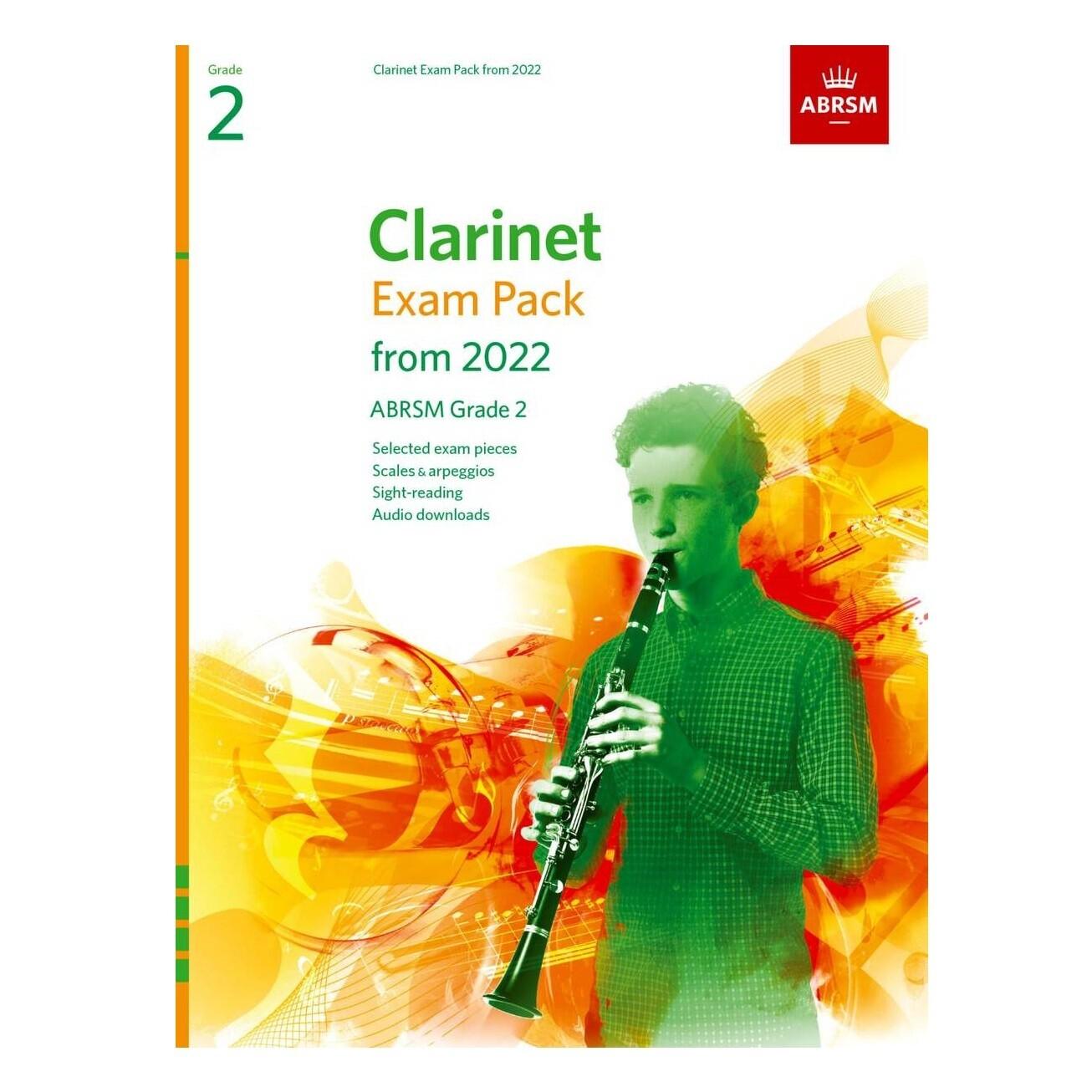 ABRSM Clarinet Exam Pack Grade 2 2022-2025