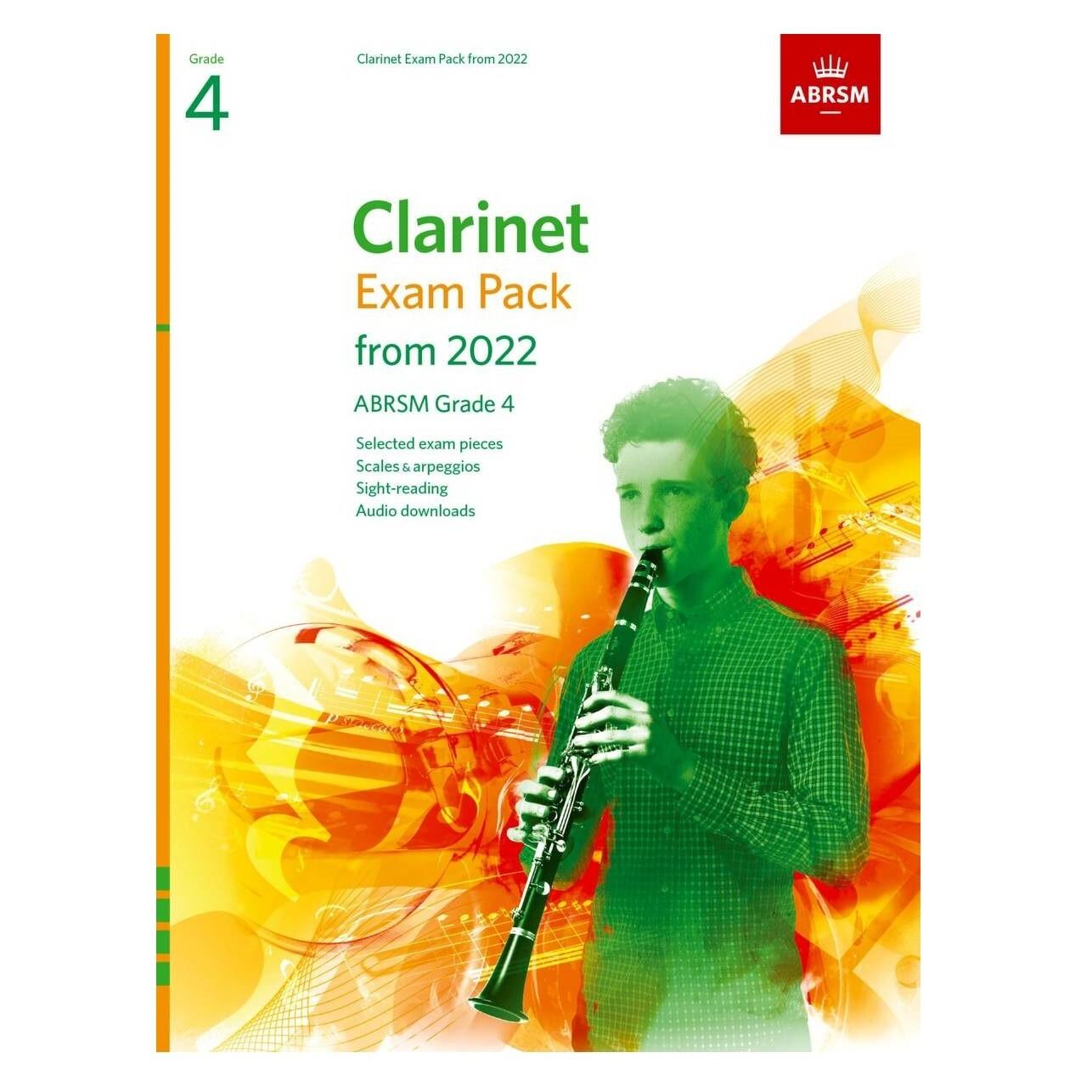 ABRSM Clarinet Exam Pack Grade 4 2022-2025