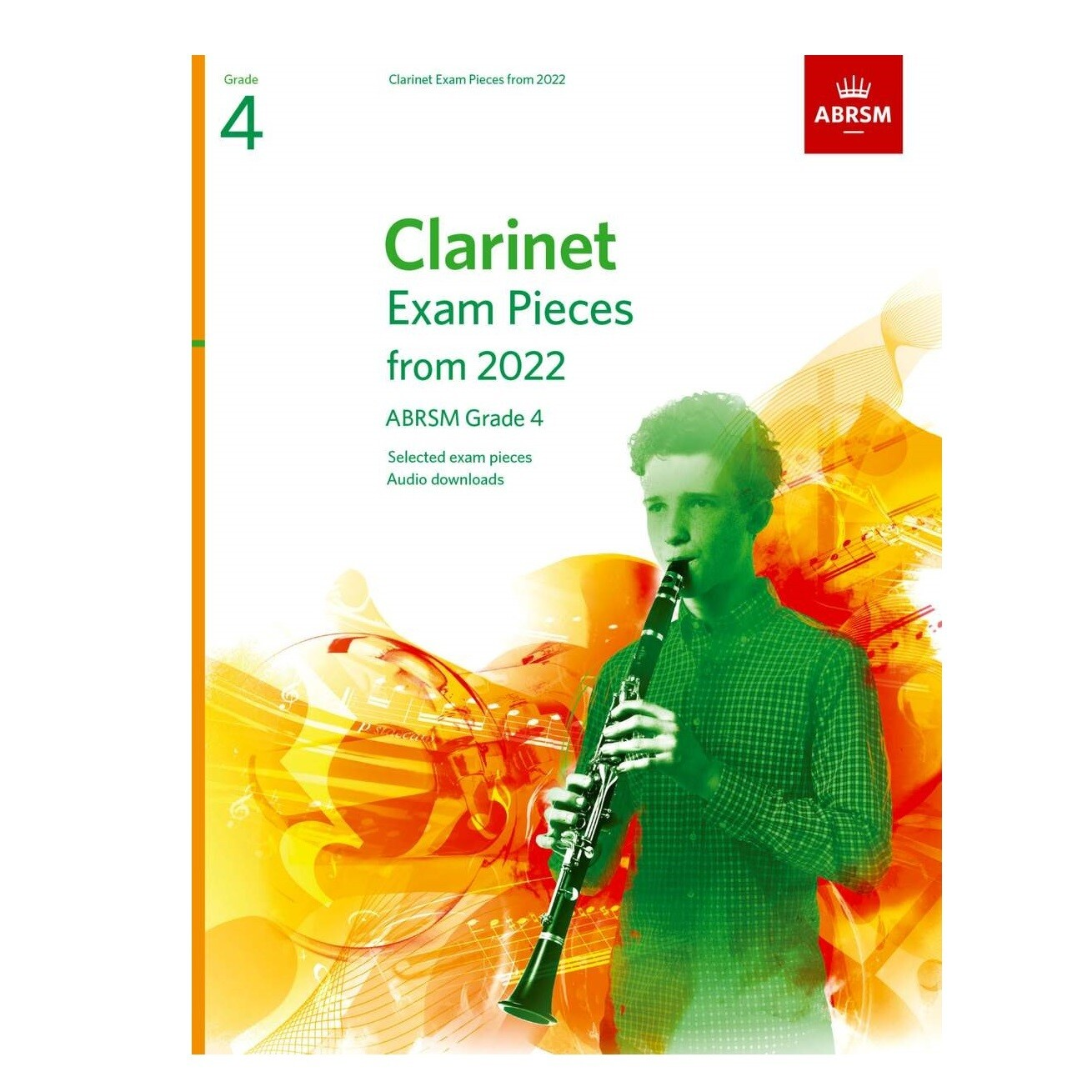 ABRSM Clarinet Exam Pieces Grade 4 2022-2025