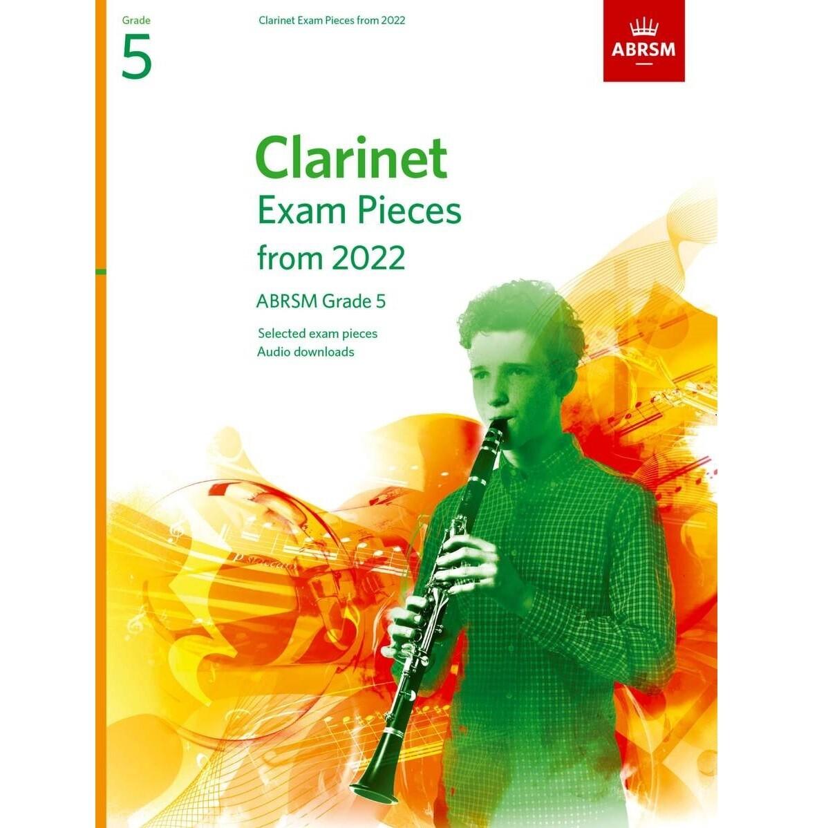 ABRSM Clarinet Exam Pieces Grade 5 2022-2025