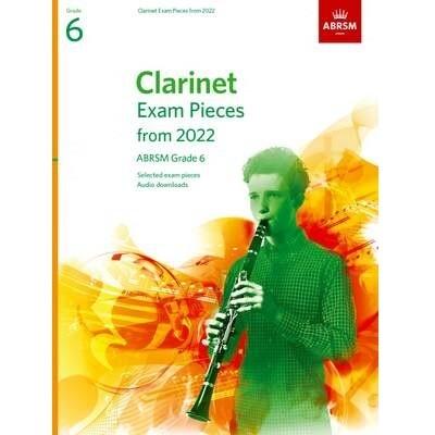 ABRSM Clarinet Exam Pieces Grade 6 2022-2025