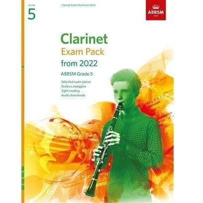 ABRSM Clarinet Exam Pack Grade 5 2022-2025