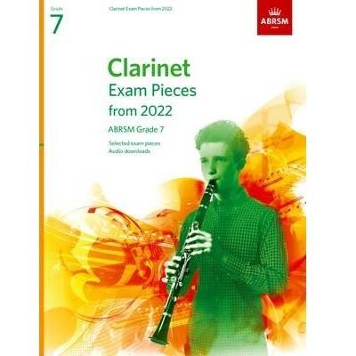 ABRSM Clarinet Exam Pieces Grade 7 2022-2025