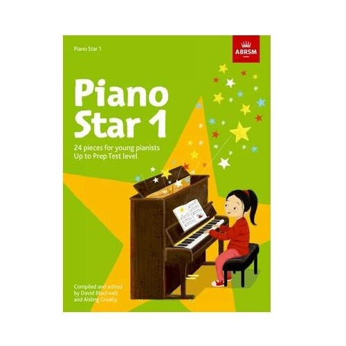 Piano Star Book 1: Up to Prep Test Level