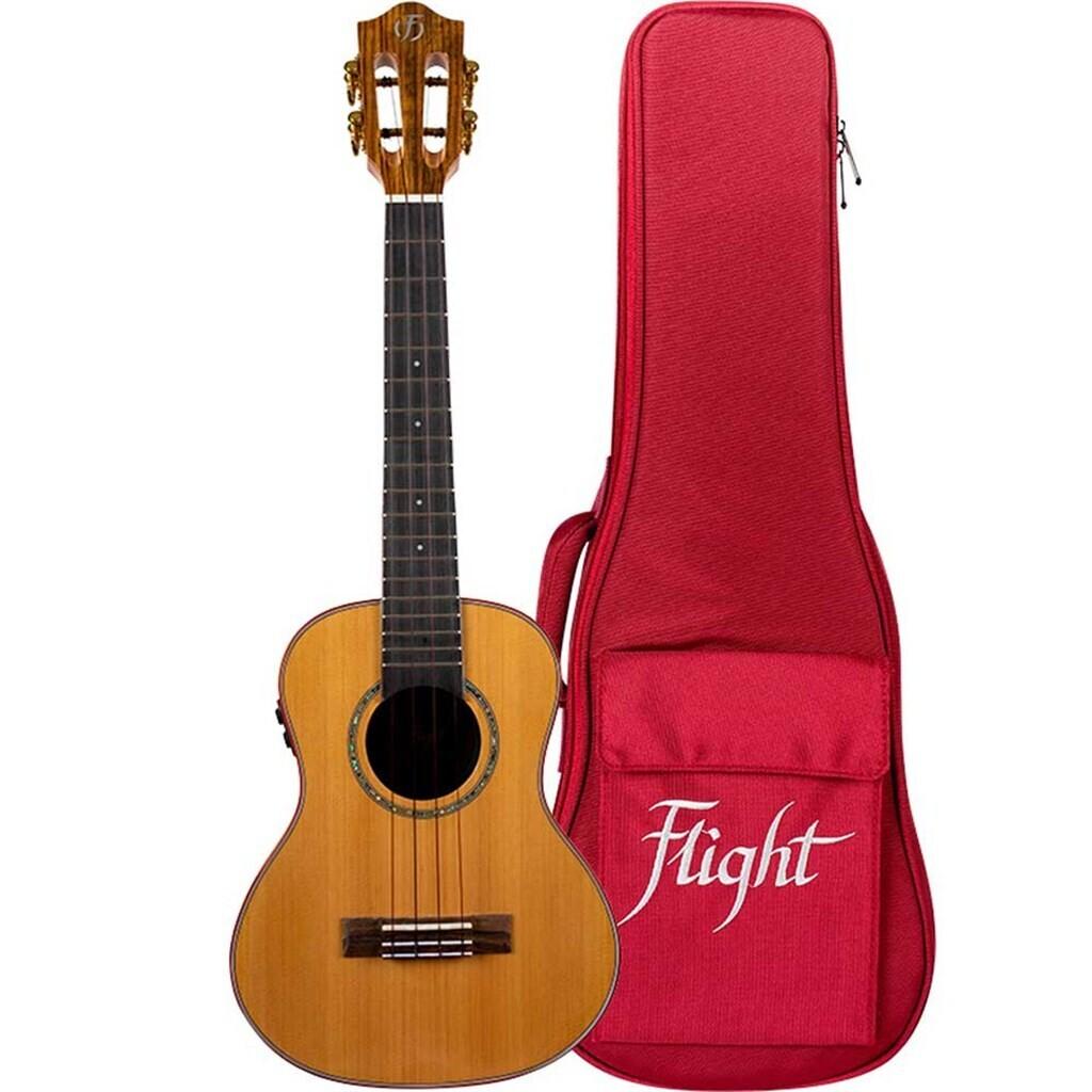 Flight Diana Soundwave Electro-Acoustic PU Concert Ukulele (with bag)