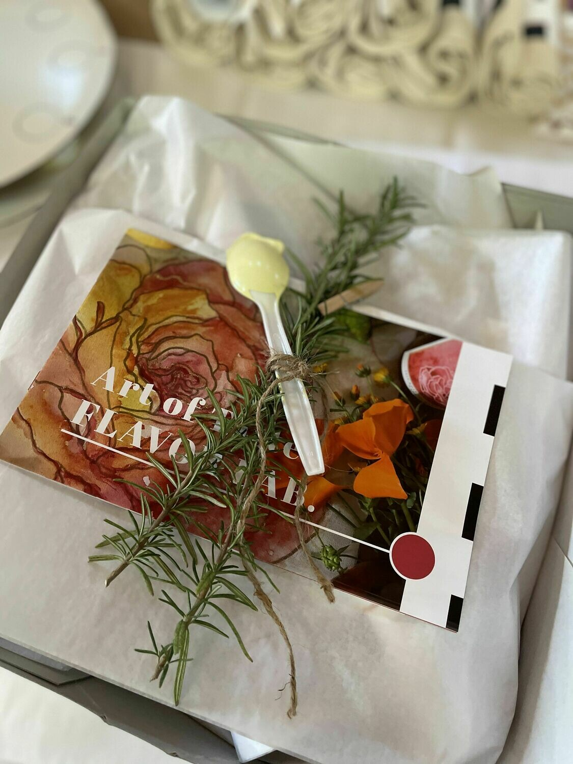 ROSE | DIY paint + sip party kit (packed for two)