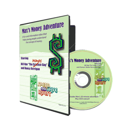 Max's Money Adventure DVD - classroom or library version