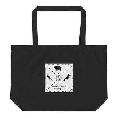 Atlas Large organic tote bag
