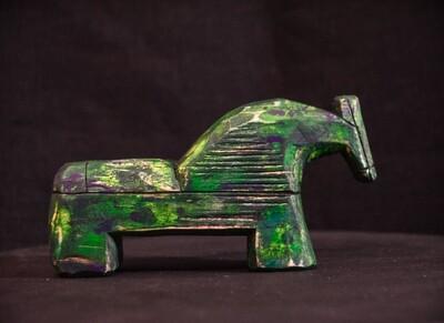 Зеленый коник