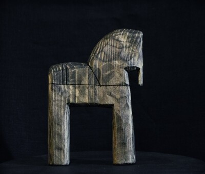 Серый коник