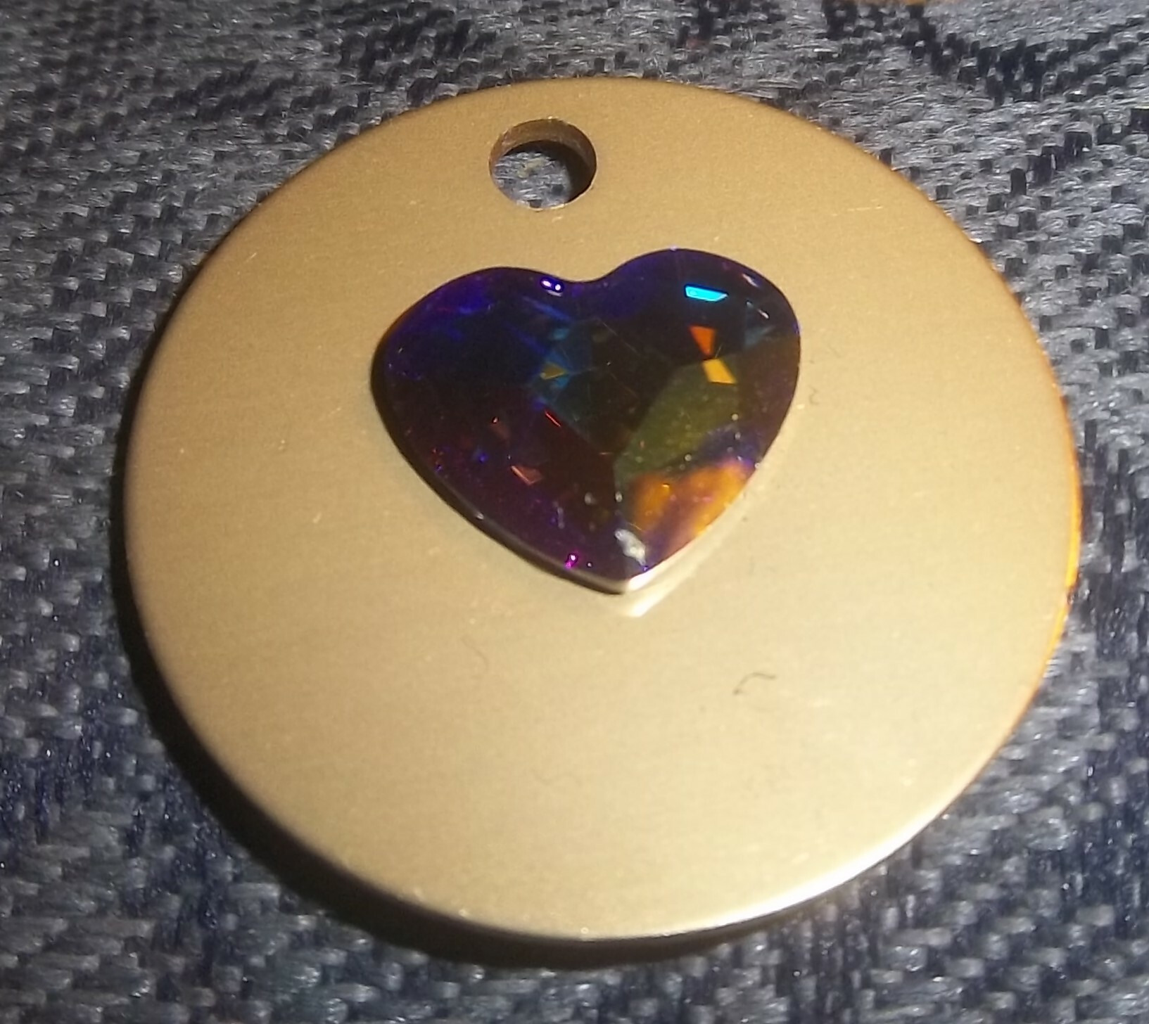 Swarovski Aurora Heart Auric Disk 00013