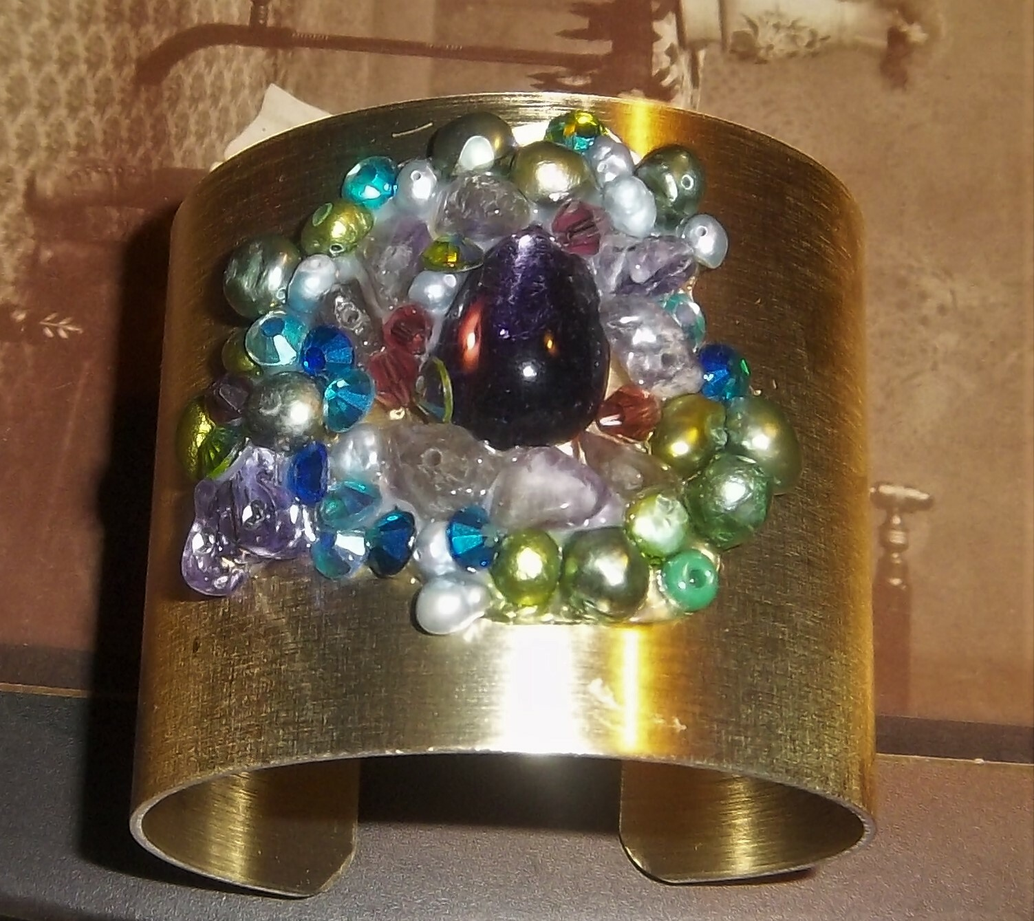 Confetti Crystals Auric Bracelet 00022