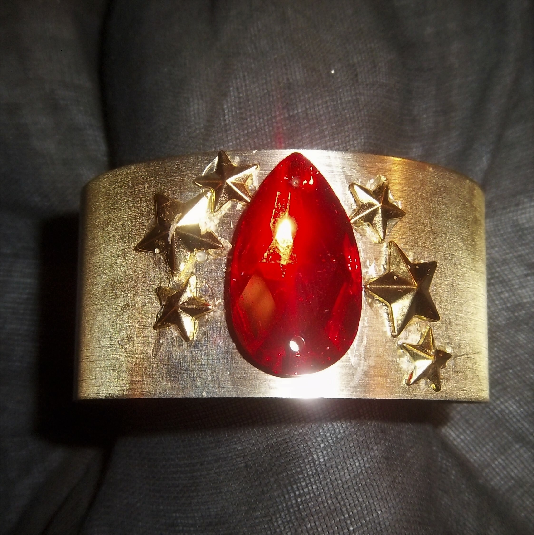 RUBY Auric Cuff- Only One!