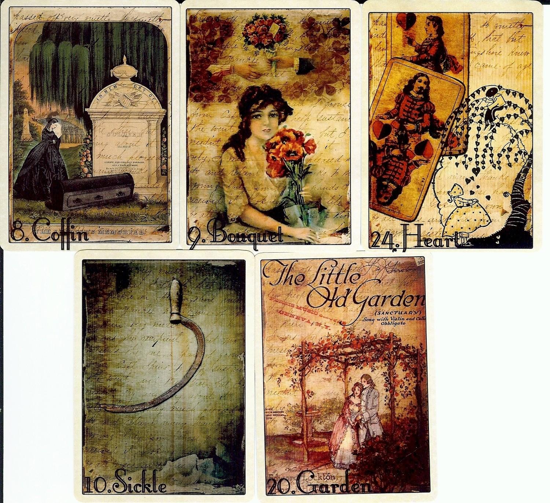 READINGS: 5 Card Lenormand