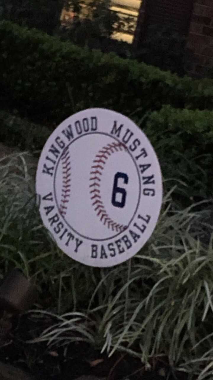 2021 KHS Baseball Yard Signs