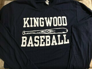 Baseball Sweatshirt with Bat