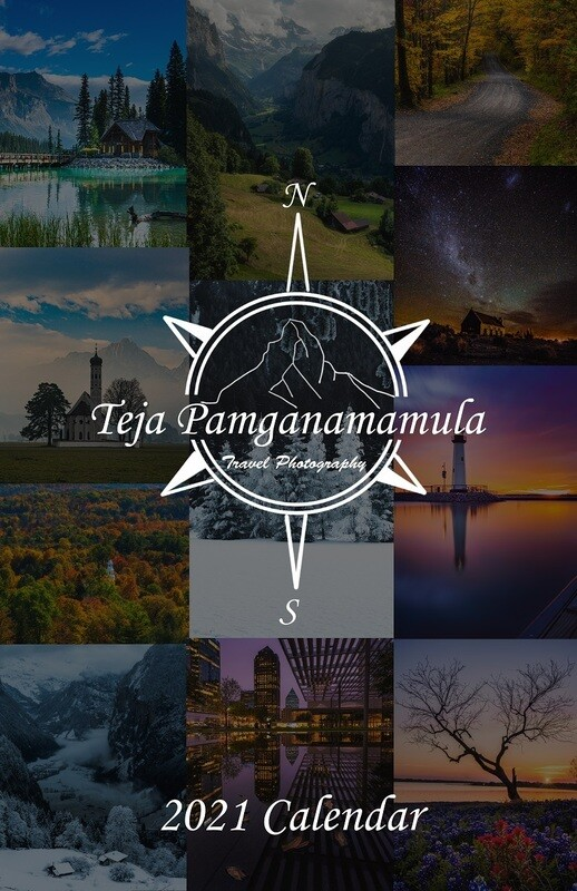 2021 Photography Calendar (11x17)