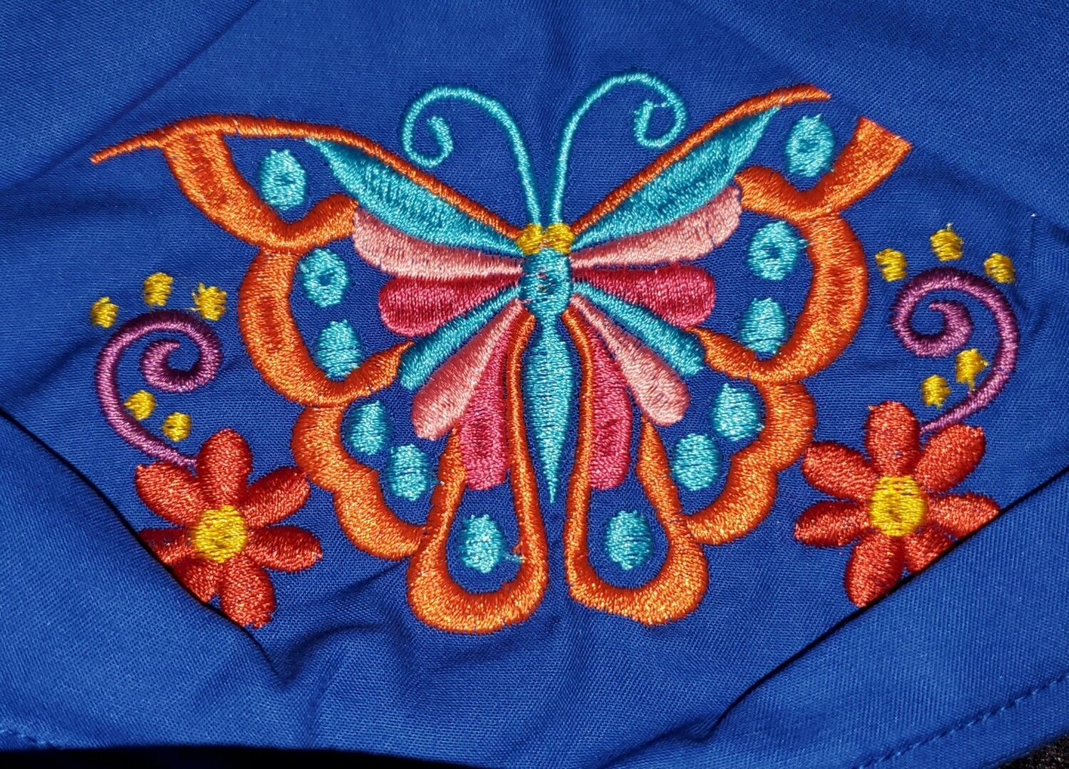 BUTTERFLY Embroidered