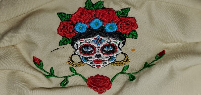 CATRINA Embroidered Design