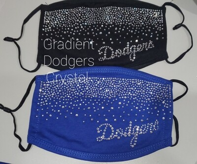 Dodgers Bling Masks