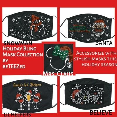 Christmas Rhinestones Designs