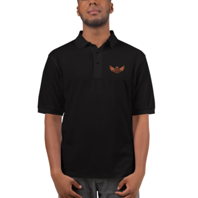 Huck Da Manager Embroidered Polo Shirt