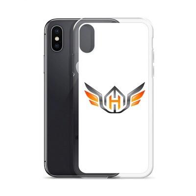 Huck Da Manager iPhone Case (White)