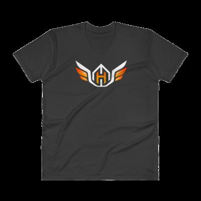 Huck Da ManagerV-Neck T-Shirt