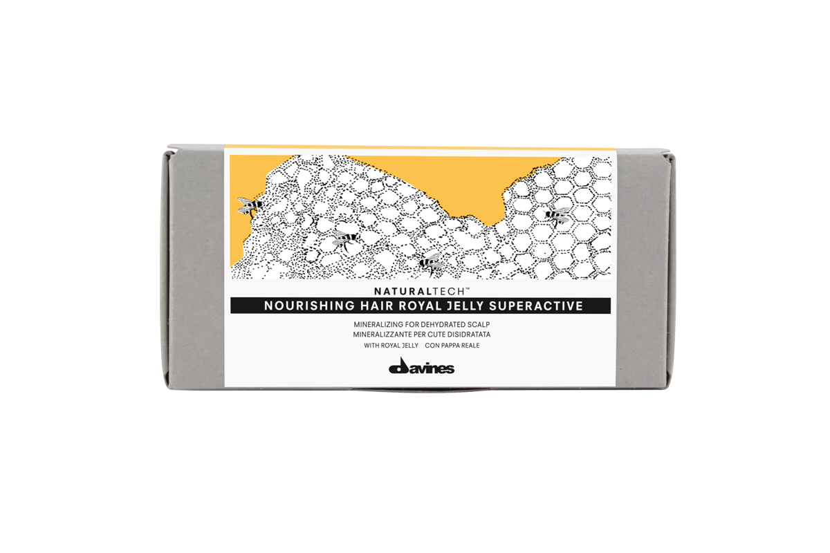 Davines Nourishing Hair Royal Jelly Superactive 8 ml x 6 | Ampolletas
