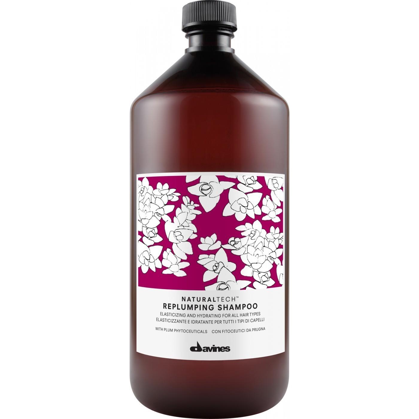Davines Replumping Shampoo 1 lt | Hidratación y Elasticidad