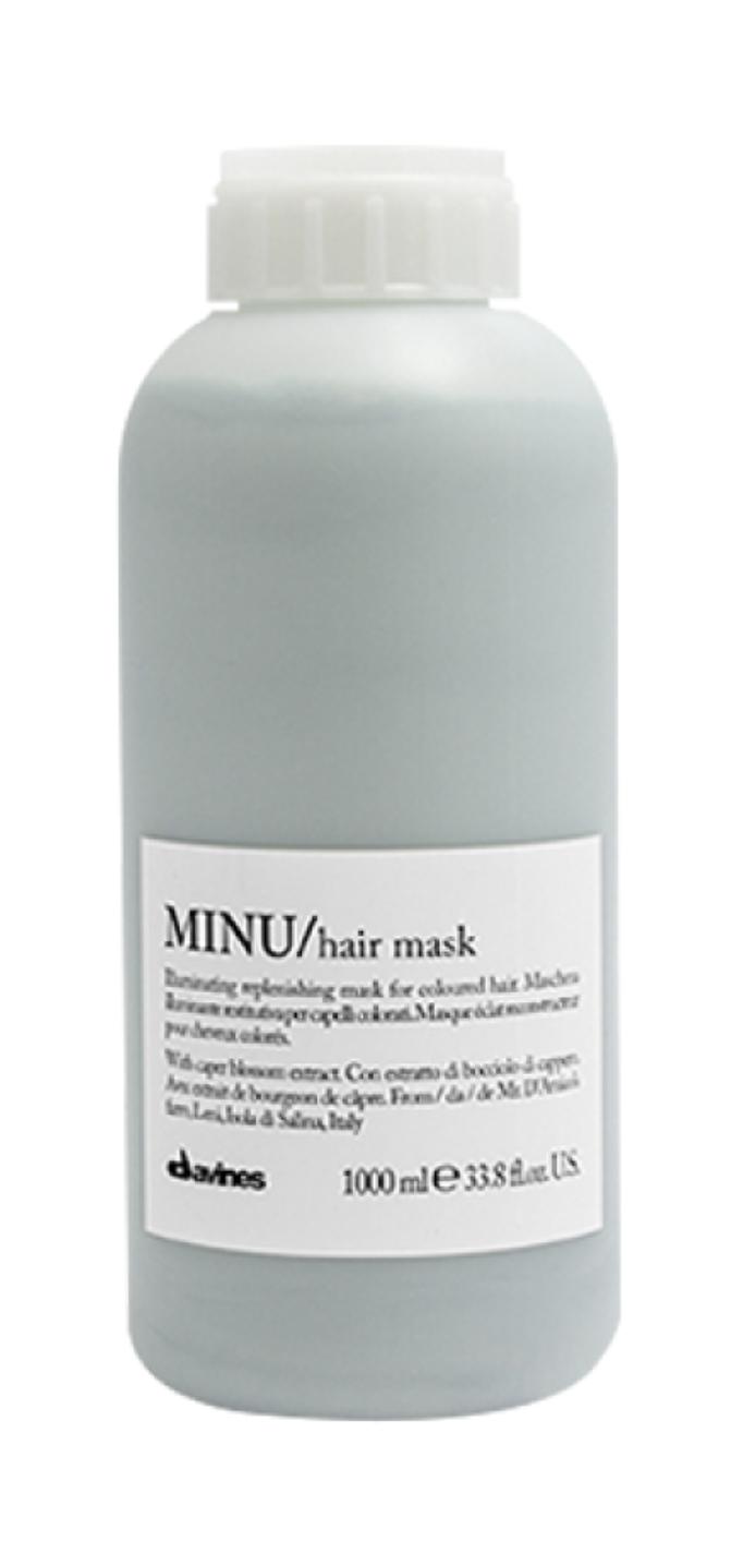 Davines MINU Hair Mask 1 lt | Cabello con Color