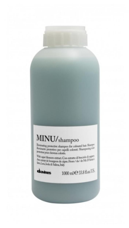 Davines MINU Shampoo 1 lt   Cabello con Color