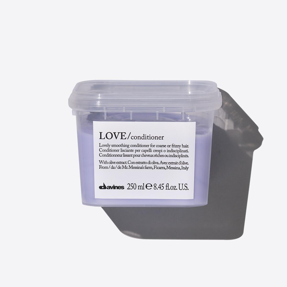 Davines Love Smoothing Acondicionador 250 ml | Cabello Rebelde