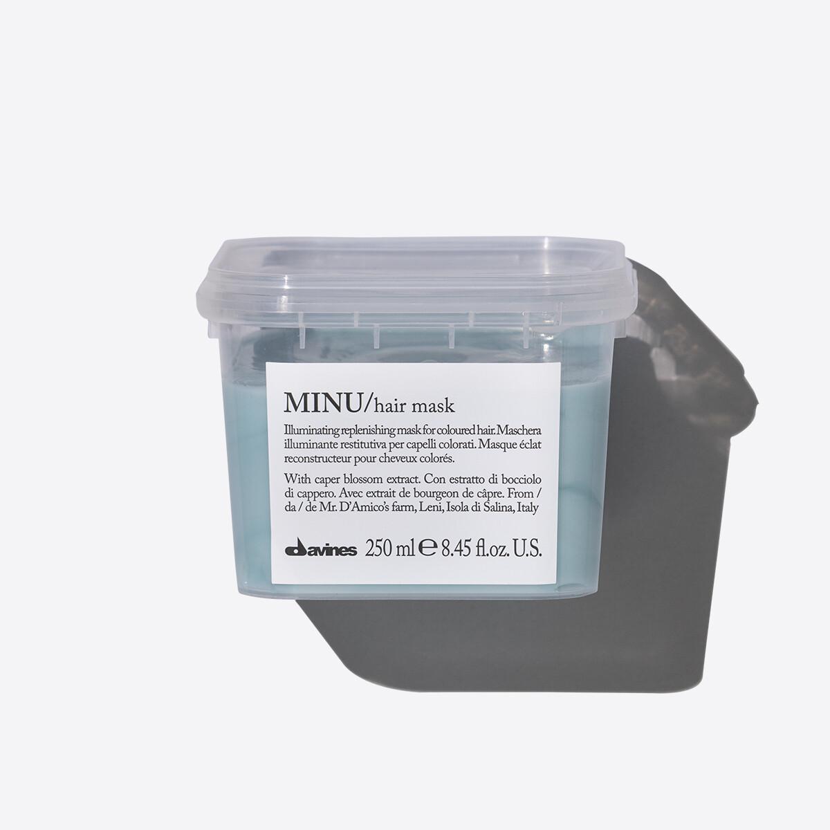 Davines MINU Hair Mask 250 ml | Cabello con Color
