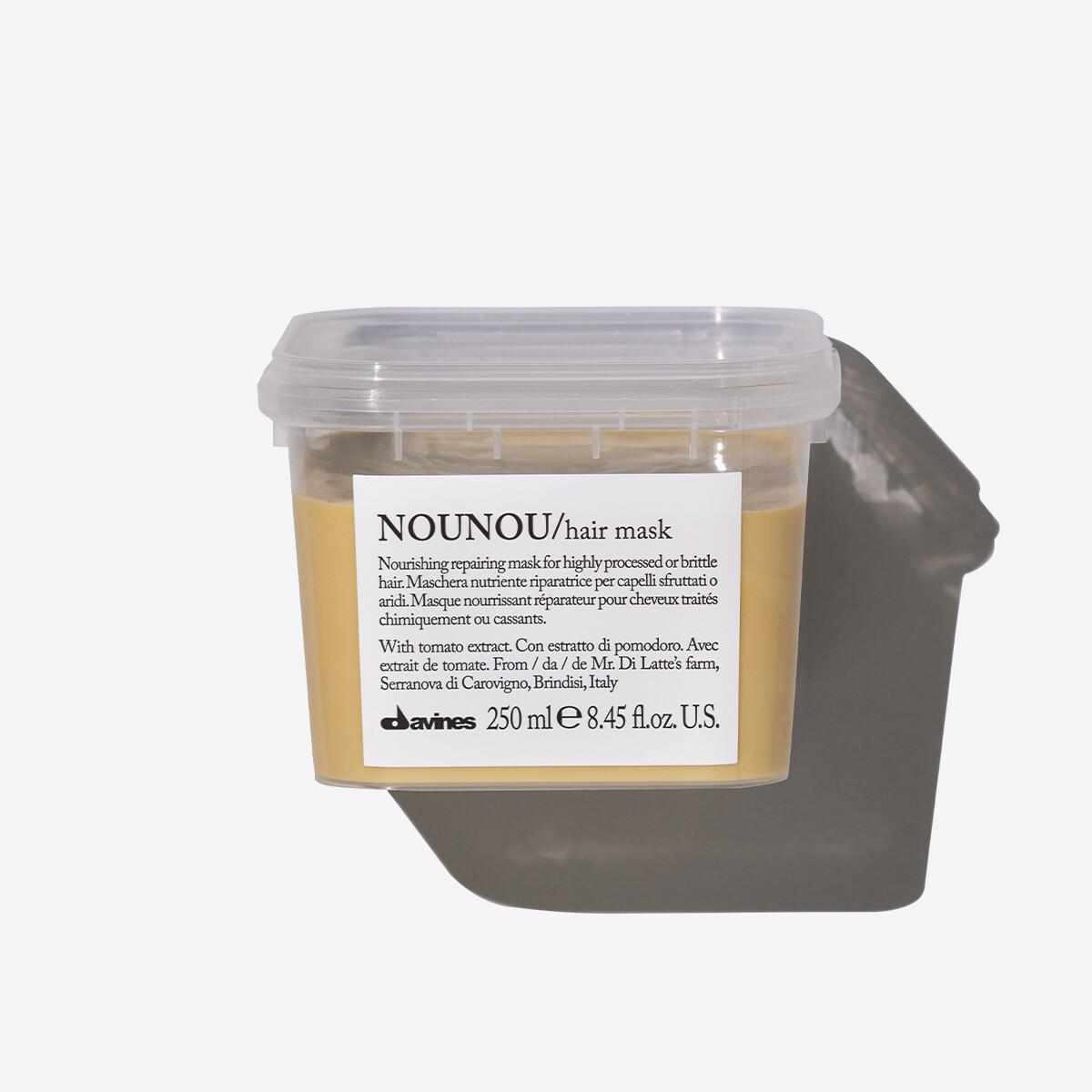 Davines NOUNOU Hair Mask 250 ml   Nutrición Intensiva