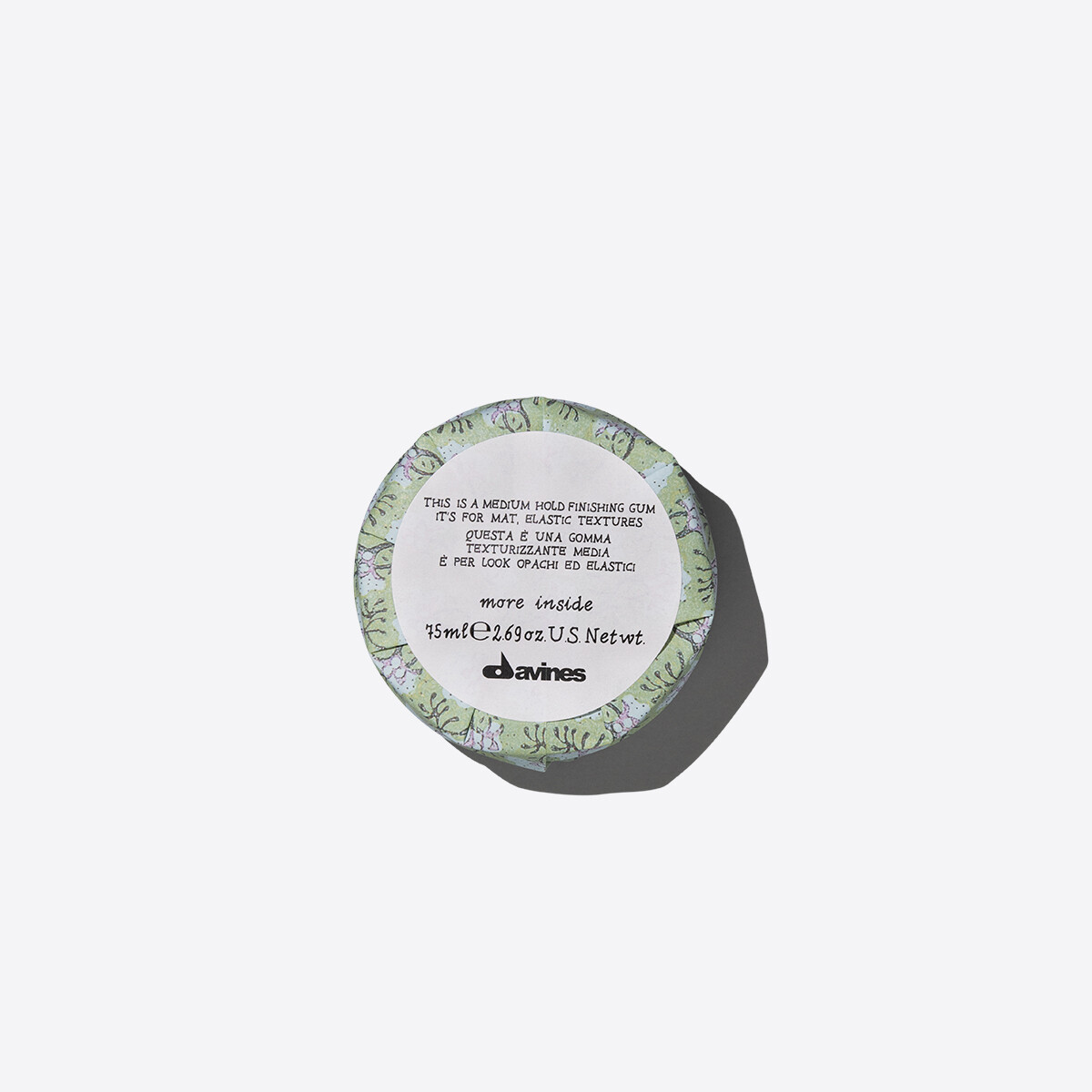 Davines This is a Medium Hold Finishing Gum 75 ml | Fijación Media