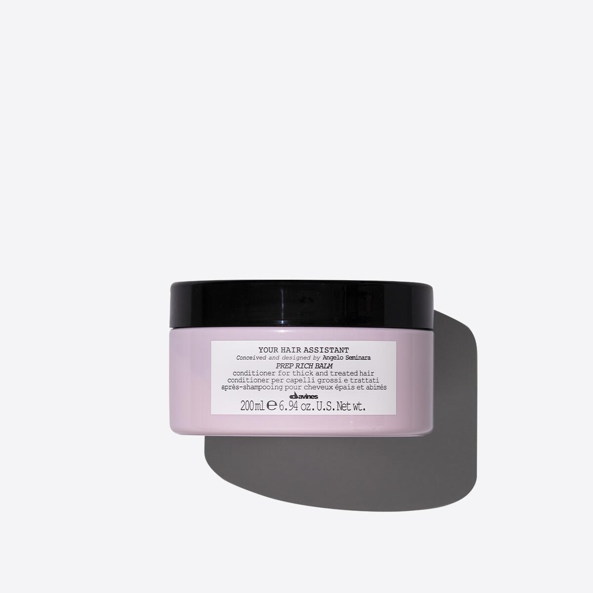 Davines Prep Rich Balm 200 ml | Acondicionador Nutritivo