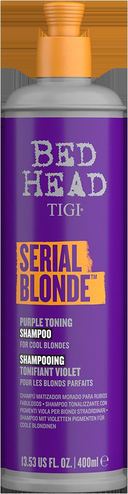 Bed Head Serial Blonde Shampoo 400 ml | Reconstrucción Rubios o Mechas