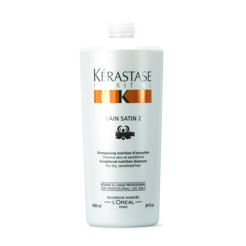Kérastase Bain Satin 2 Irisome 1 lt | Shampoo Nutrición Medianamente Seco