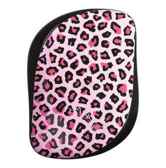 Tangle Teezer Compact Styler | Cepillo Desenredante Leopardo pink