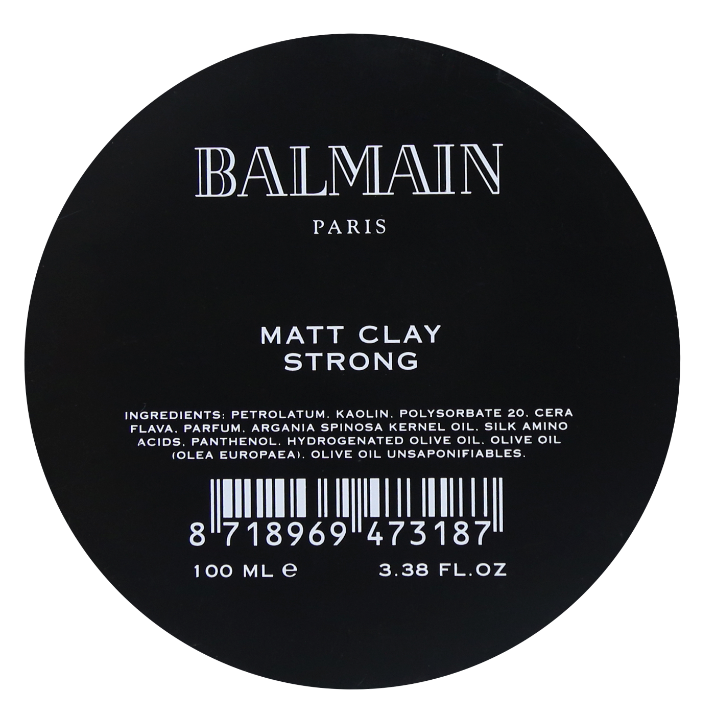 Balmain Matt Clay Strong 100 ml | Arcilla Acabado Mate