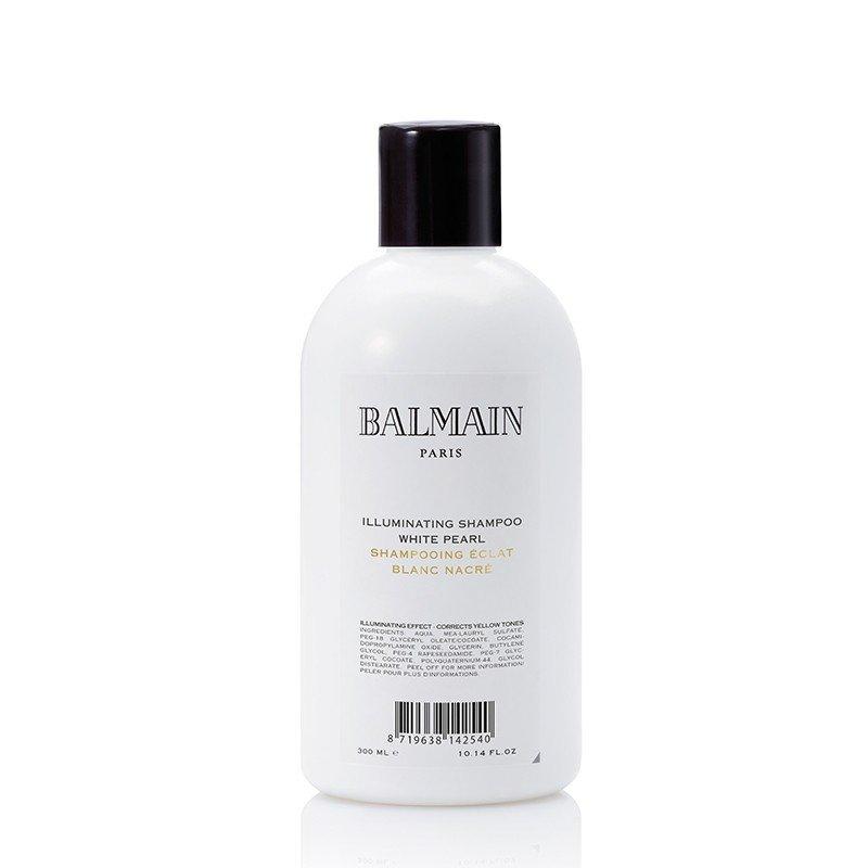 Balmain Illuminating Shampoo White Pearl 300 ml | Shampoo Cabello Rubio y con Mechas