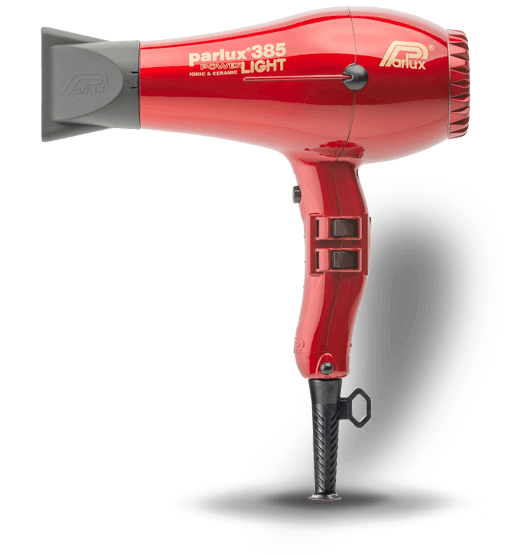 Parlux 385 Power Light   Rojo   2100 w