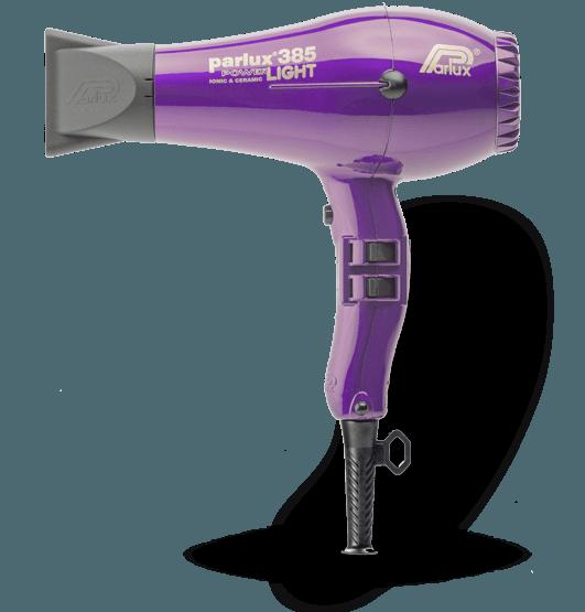 Parlux 385 Power Light   Violeta   2100 w
