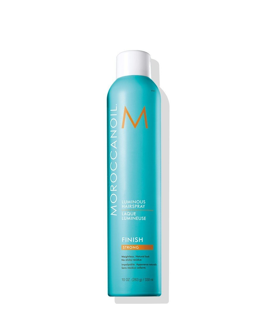 Moroccanoil Luminous Hairspray Strong 330 ml | Fijador Luminoso