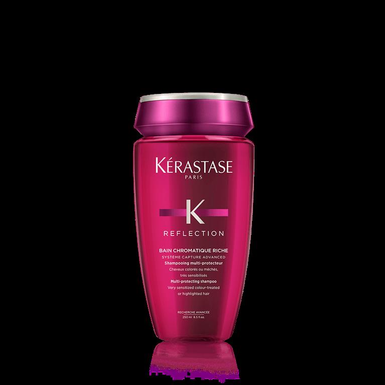 Kérastase Bain Chromatique Riche 250 ml   Shampoo Color o Mechas Fuertemente Sensibilizado