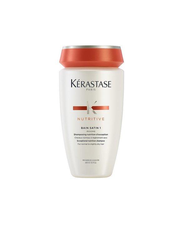 Kérastase Bain Satin 1 Irisome 250 ml   Shampoo Nutrición Cabello Ligeramente Seco